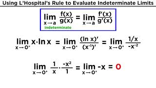 Understanding Limits and L'Hospital's Rule
