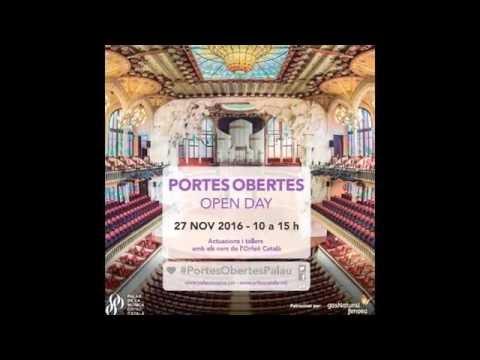 Portes Obertes del Palau de la Música  catalana de Barcelona 2016 #palaumusicacat #Espaisingle