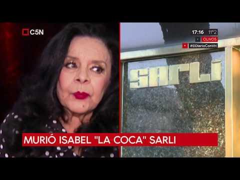 Murió Isabel 'La Coca' Sarli a los 89 años