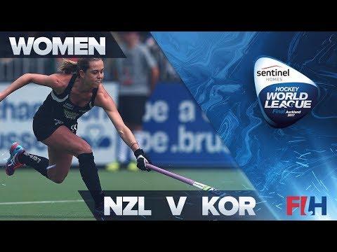 New Zealand v Korea Match Highlights - Sentinel Homes Hockey World League Final   Auckland, New Zeal