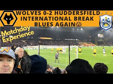 MATCHDAY EXPERIENCE 😐 Wolves 0-2 Huddersfield 🙀