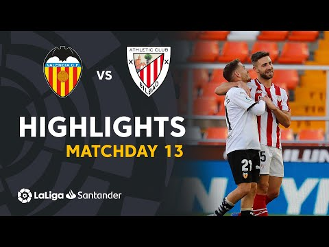 Valencia Ath. Bilbao Goals And Highlights