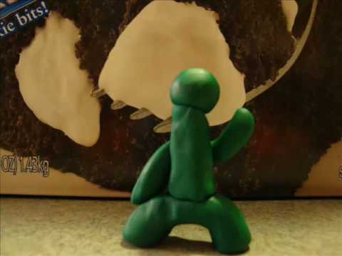 How a clay man is formed