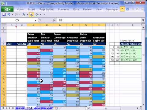 excel-magic-trick-354:-2-criteria-counting-for-blood-sugar-levels