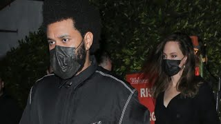 The Weeknd and Angelina Jolie's Dinner Date Sparks Dating Rumors