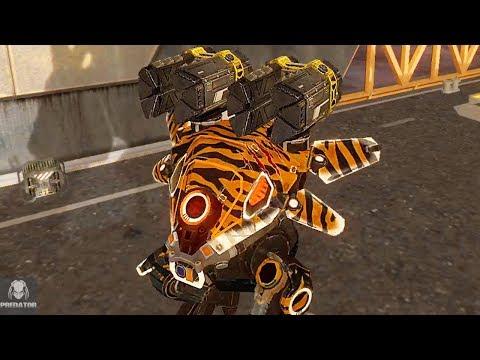 MAX Carnage Devastating In Solo Gameplay | PREDATOR against Adrian in Beacon Rush | War Robots