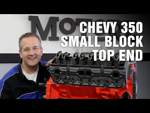 How-To Rebuild Top End Chevy 350 Small Block Engine Motorz #67