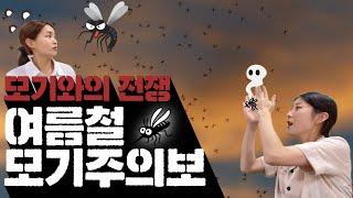 [#109] 모기와의 전쟁!  여름철 모기주의보