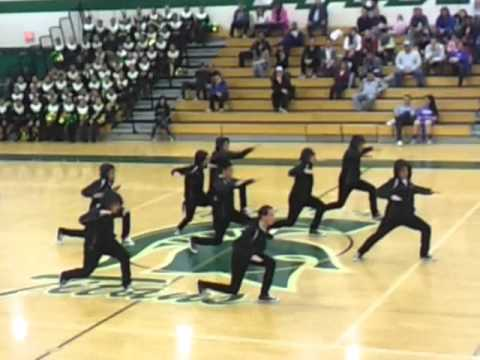 PHS All Male Half Time Performance