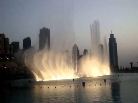 Dubai Lake Fountains Summer 2010 (United Arab Emirates)