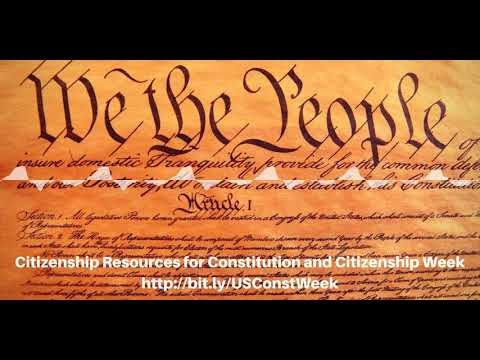 Preamble Of The US Constitution