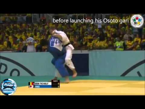 Osoto gari breakdown by Ono at 2013 World Championships