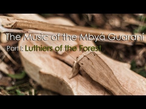 The Music of the Mbyá Guaraní Part I:  Luthiers of the Forest