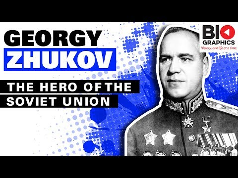 Georgy Zhukov: General Of The Red Army And Hero Of The Soviet Union