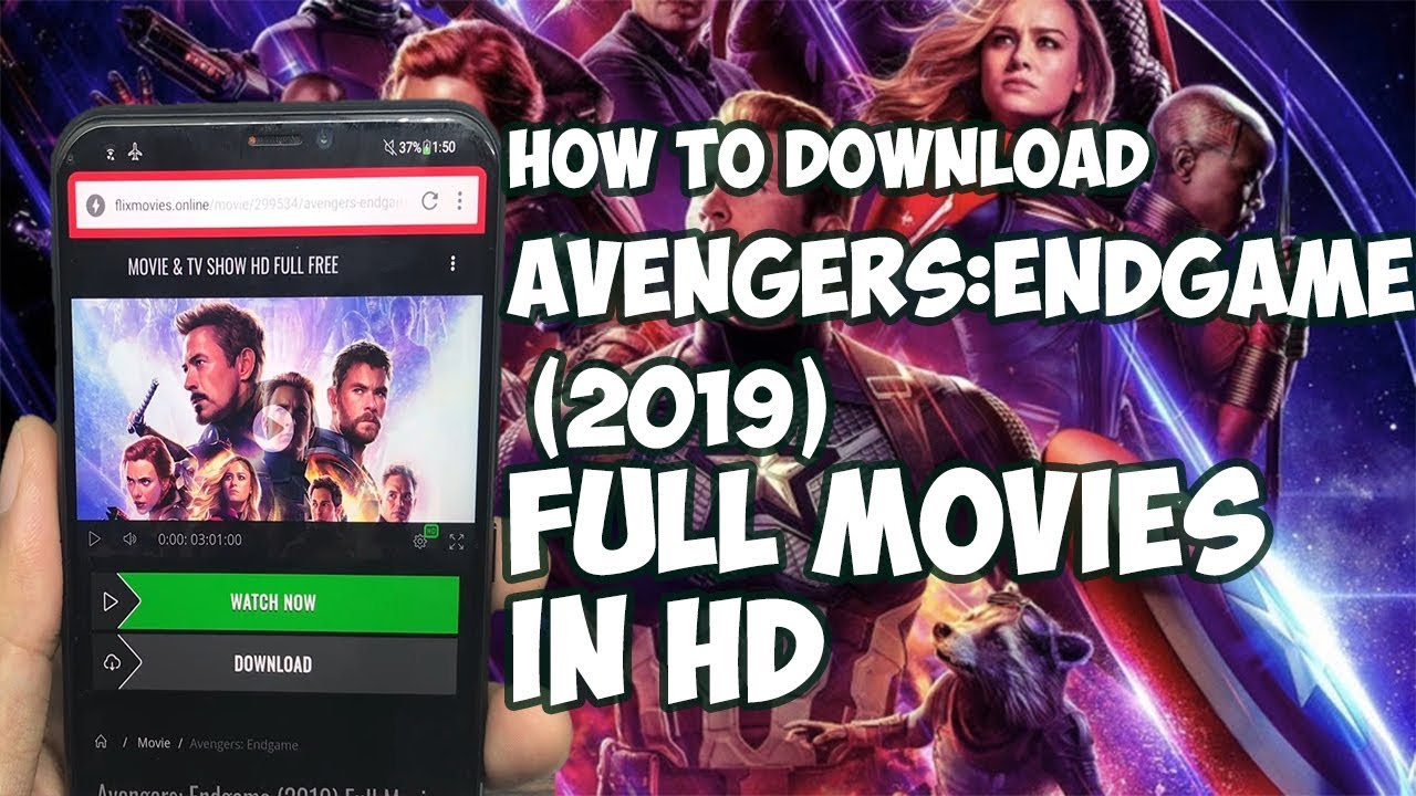 Download How To Download Avengers:Endgame Full Movies | Download Avengers:Endgame Movies Working 100%