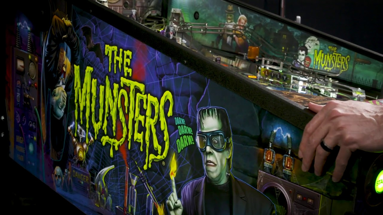The Munsters Pinball ~ Pro & Premium Trailer