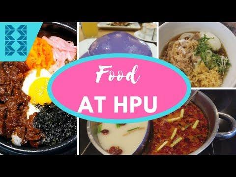 Food at Hawaii Pacific University: Part 1