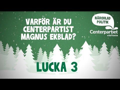 Lucka 3  Magnus Ekblad