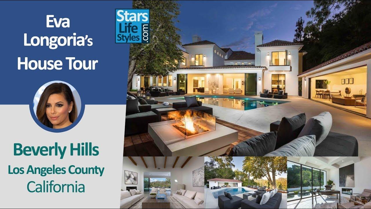 Eva longoria 39 s beverly hills house tour los angeles for Celebrity homes tour la