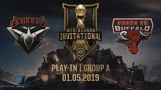 BMR vs PVB [MSI 2019][01.05.2019][Group A][Play-in]