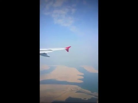 Flight from Dubai To Amman on an airbus  a320