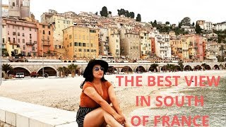 BEST VIEW IN SOUTH OF FRANCE; FRENCH RIVIERA TRAVEL VLOG;  MONACO, MENTON, NICE, CANNES