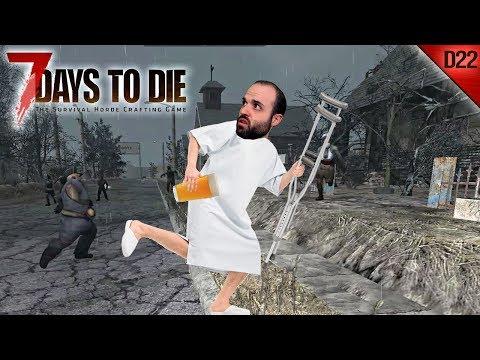 7 DAYS TO DIE #D22 | LA CERVEZA SALVADORA!!! | Gameplay Español