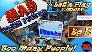 Mad Games Tycoon(v0.16) ► Episode 12 ► Investing in the Competition! (1440p)