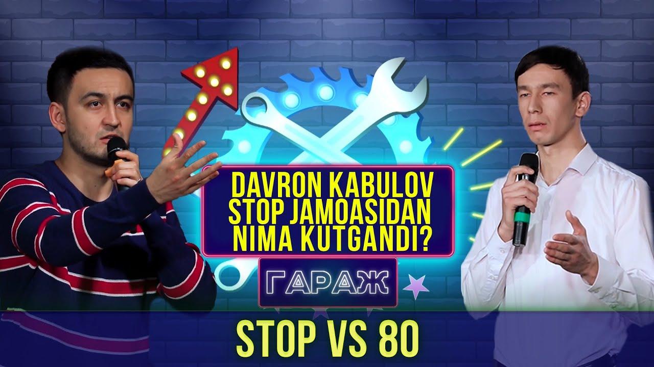 Garaj Shou 2-mavsum 4-o'yin. Stop vs 80 // Гараж шоу 2-мавсум 4-ўйин. Стоп vs 80