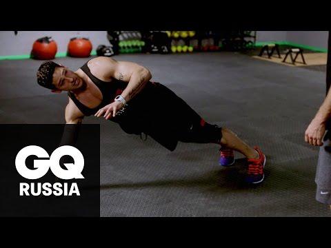 Бой с весом: «Учебка» – трёхминутная тренировка для мышц кора