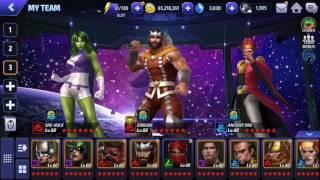 Marvel Future Fight- My First Inhuman Gorgon [Gorgon Review]