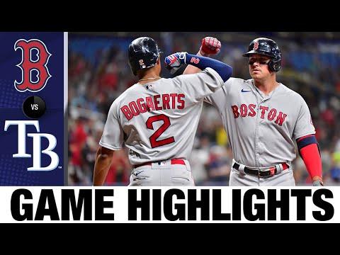 Red Sox vs. Rays Game Highlights (6/22/21) | MLB Highlights