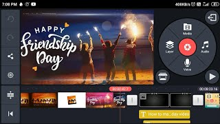 How to make friendship day video