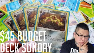 GOI 45 alolan dugtrio deck profile budget deck Sunday Daily Pokemon TCG video channel