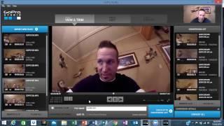 GoPro editing software tutorial