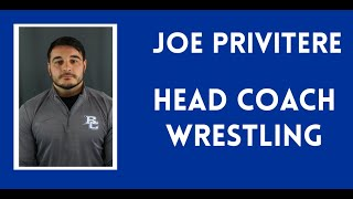 Welcome to Wrestling with Joe Privitere