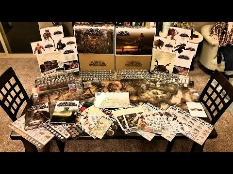 CONAN Kickstarter Unboxing (King Pledge)