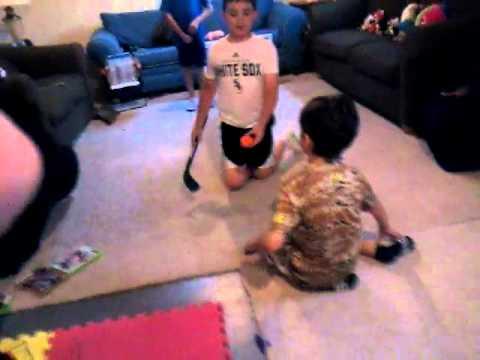 Mini Hockey Game 1 - ALG32705 vs LittleGecko