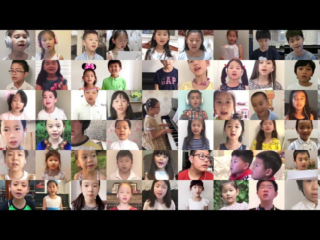 On Wings of Song (Virtual Choir View)