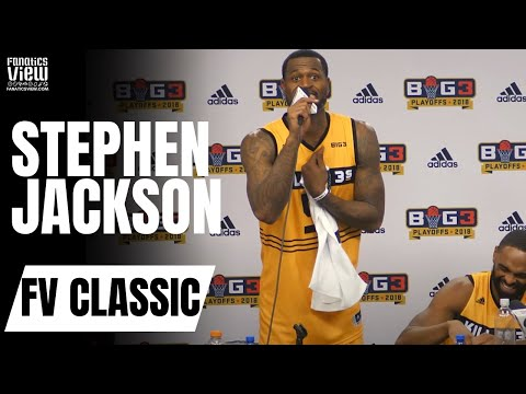 Stephen Jackson Rips Reporter Over