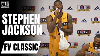 "Stephen Jackson Rips Reporter Over ""Could Kobe Bryant Handle the Big3?"""