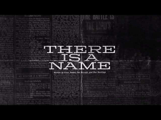 There Is A Name (Official Lyric Video) - Bethel Music | VICTORY