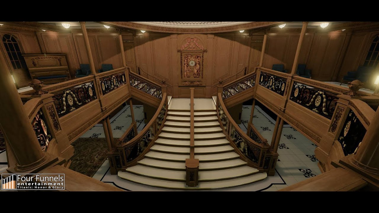 """Titanic - Honor and Glory"" Grand Staircase CRYENGINE 3!!! WIP"