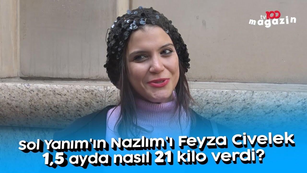 Sol Yanım'ın Nazlım'ı Feyza Civelek 1,5 ayda nasıl 21 kilo verdi?