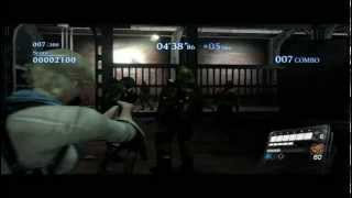 Resident Evil 6 The Mercenaries: No Mercy Duo - Rooftop - Sherry and Leon - 2143k