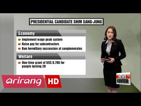 Korea's Presidential Candidates: Shim Sang-jung
