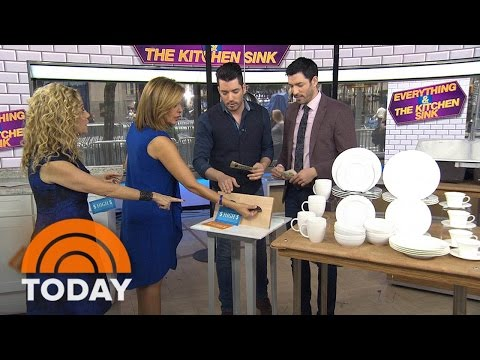 'Property Brothers' Drew And Jonathan Scott Quiz KLG And Hoda On Kitchen Items | TODAY