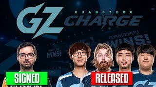 GUANGZHOU CHARGE SIGNS NEPTUNO AND RELEASES 4 PLAYERS! MAG TO VANCOUVER TITANS! PAINTBRUSH TO LAG!