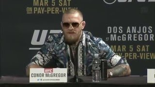 the best of conor mcgregor pt 5   funniest quotes and moments prince dubai