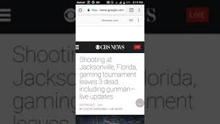 Mass Shooting at Madden 19 Tournament